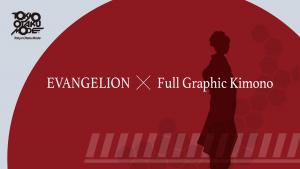 EVANGELION × Full Graphic Kimono by Tokyo Otaku Mode